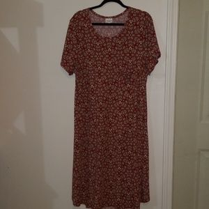3XL Carly dress Lularoe EUC
